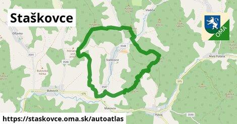 ikona Mapa autoatlas  staskovce