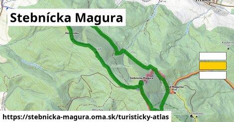 ikona Turistická mapa turisticky-atlas  stebnicka-magura
