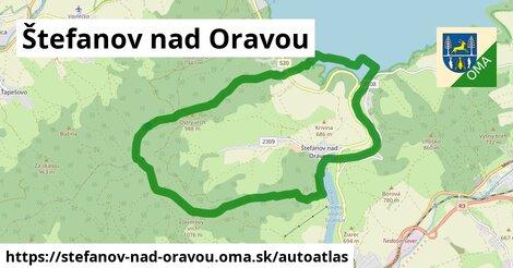 ikona Mapa autoatlas  stefanov-nad-oravou