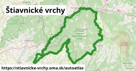 ikona Mapa autoatlas  stiavnicke-vrchy