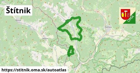 ikona Mapa autoatlas  stitnik