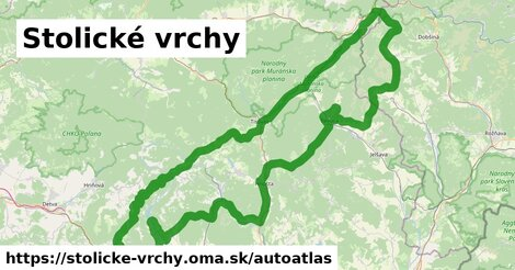 ikona Mapa autoatlas  stolicke-vrchy