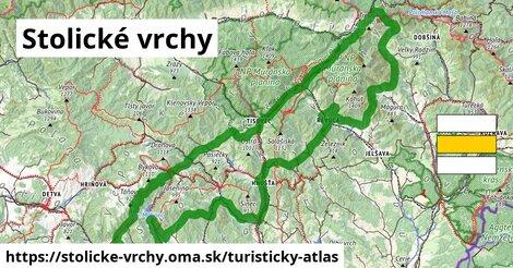 ikona Turistická mapa turisticky-atlas  stolicke-vrchy