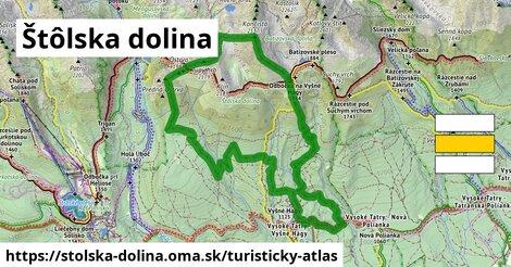 ikona Turistická mapa turisticky-atlas  stolska-dolina