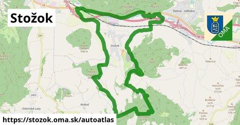 ikona Mapa autoatlas  stozok