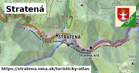 ikona Turistická mapa turisticky-atlas  stratena