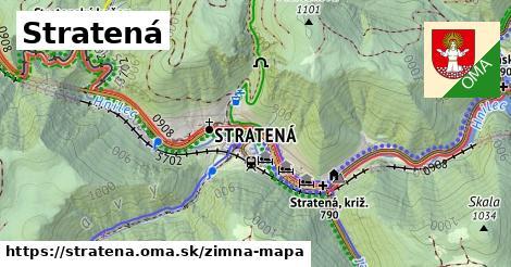 ikona Zimná mapa zimna-mapa v stratena