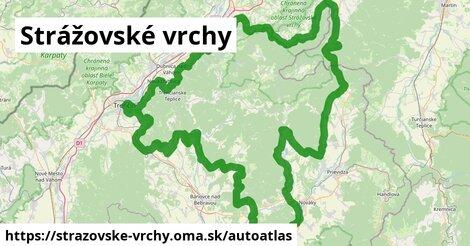 ikona Mapa autoatlas  strazovske-vrchy