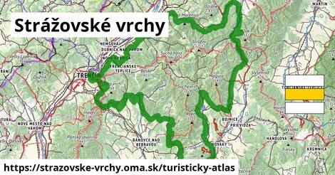 ikona Turistická mapa turisticky-atlas  strazovske-vrchy