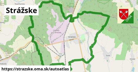 ikona Mapa autoatlas  strazske