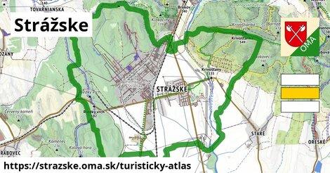ikona Turistická mapa turisticky-atlas  strazske