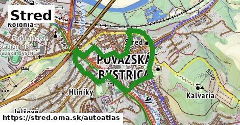 ikona Mapa autoatlas  stred