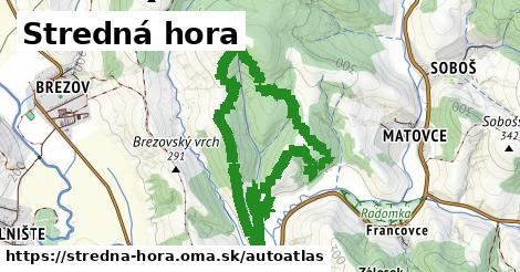ikona Mapa autoatlas  stredna-hora