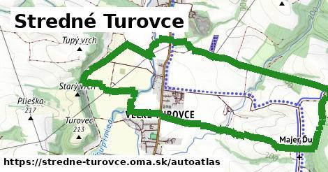 ikona Mapa autoatlas  stredne-turovce