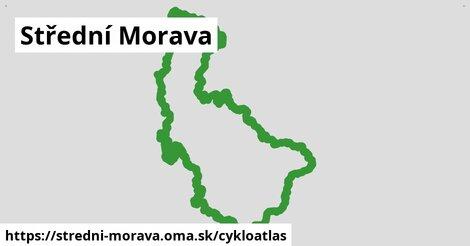 ikona Střední Morava: 4,08tisíckm trás cykloatlas  stredni-morava