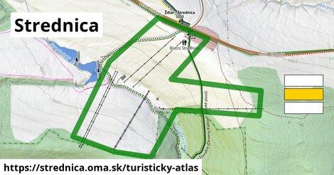 ikona Turistická mapa turisticky-atlas  strednica