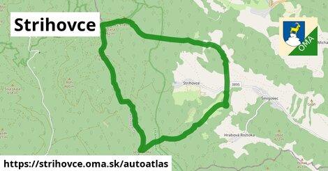 ikona Mapa autoatlas  strihovce