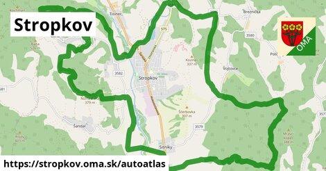ikona Mapa autoatlas  stropkov