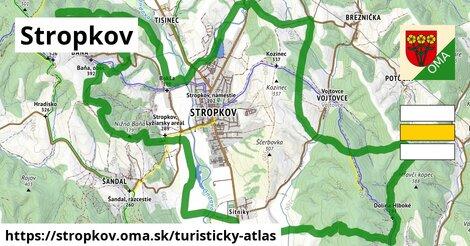 ikona Turistická mapa turisticky-atlas  stropkov