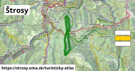 ikona Turistická mapa turisticky-atlas  strosy