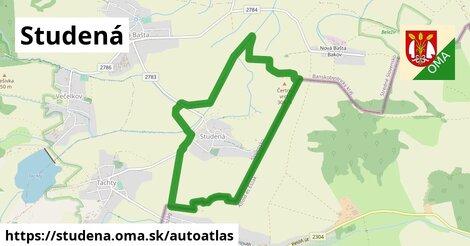 ikona Mapa autoatlas  studena