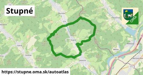 ikona Mapa autoatlas  stupne