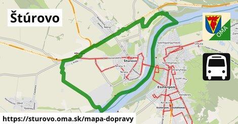ikona Mapa dopravy mapa-dopravy  sturovo