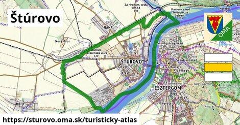 ikona Turistická mapa turisticky-atlas  sturovo