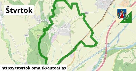 ikona Mapa autoatlas  stvrtok