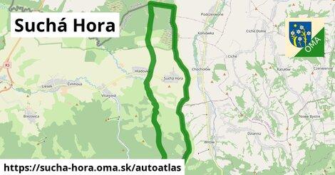 ikona Mapa autoatlas  sucha-hora