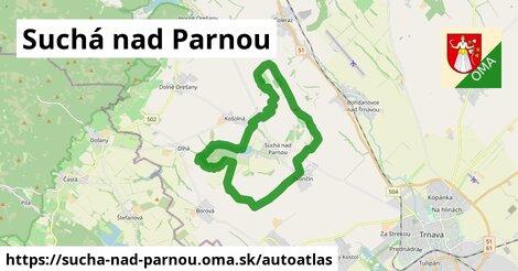 ikona Mapa autoatlas  sucha-nad-parnou