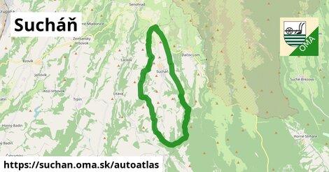 ikona Mapa autoatlas  suchan