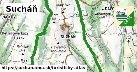 ikona Turistická mapa turisticky-atlas  suchan