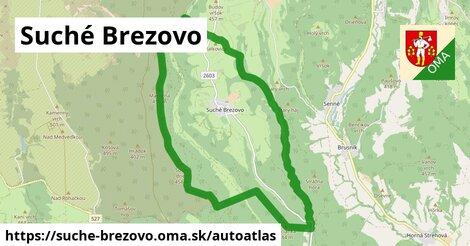 ikona Mapa autoatlas  suche-brezovo