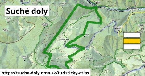 ikona Turistická mapa turisticky-atlas  suche-doly