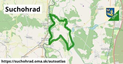 ikona Mapa autoatlas  suchohrad