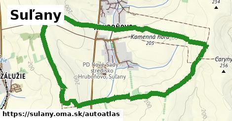 ikona Mapa autoatlas  sulany