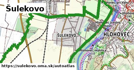 ikona Mapa autoatlas  sulekovo