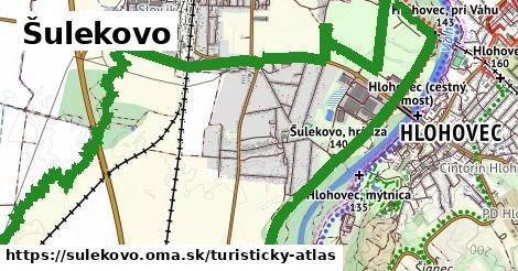 ikona Šulekovo: 0m trás turisticky-atlas v sulekovo