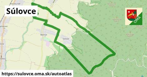 ikona Mapa autoatlas  sulovce