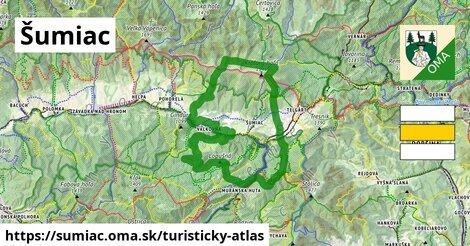 ikona Turistická mapa turisticky-atlas  sumiac