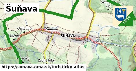 ikona Turistická mapa turisticky-atlas  sunava