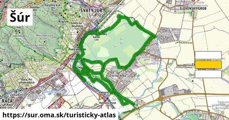 ikona Turistická mapa turisticky-atlas  sur