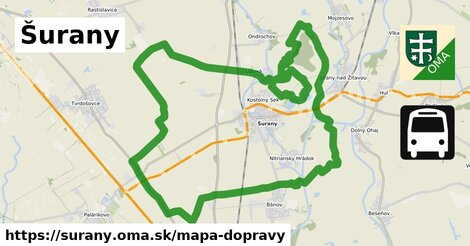 ikona Mapa dopravy mapa-dopravy  surany