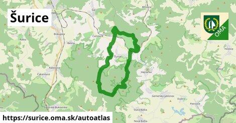 ikona Mapa autoatlas  surice