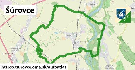 ikona Mapa autoatlas  surovce