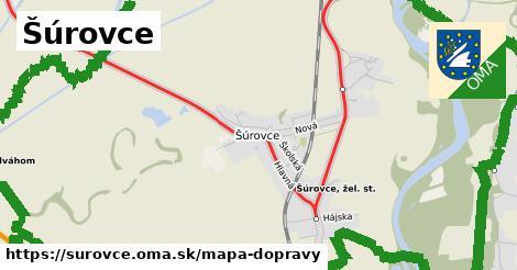 ikona Mapa dopravy mapa-dopravy  surovce