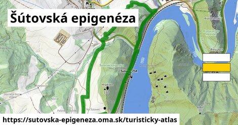 ikona Turistická mapa turisticky-atlas  sutovska-epigeneza