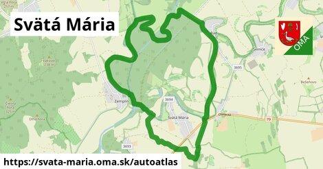 ikona Mapa autoatlas  svata-maria