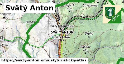ikona Turistická mapa turisticky-atlas  svaty-anton